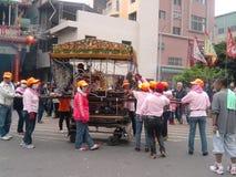 Foire traditionnelle de temple autour de l'événement - ordures de Godscar photographie stock libre de droits
