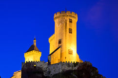 Foix Castle Royalty Free Stock Images
