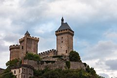 Foix castle, France Royalty Free Stock Photography