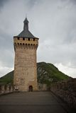 Foix castle royalty free stock photo
