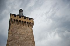 Foix castle royalty free stock image
