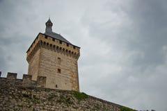 Foix castle stock image
