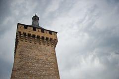 Foixkasteel royalty-vrije stock afbeelding