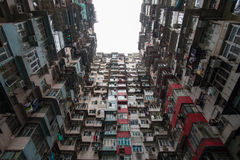 Fok Cheong Building in Hong Kong Fotografie Stock