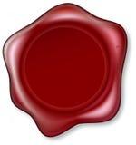 foka czerwony wosk ilustracji