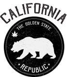 Foka stan Kalifornia royalty ilustracja