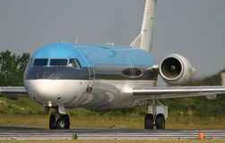 Fokker 100 Royalty Free Stock Images