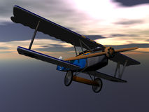 Fokker Aircraft Royalty Free Stock Image