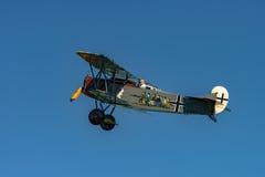 Fokker D VII reproducción Foto de archivo