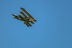 Fokker D VII reproducción Fotografía de archivo libre de regalías