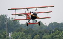 Fokker DR.I - all'anniversario di Comina 100 della La Immagine Stock Libera da Diritti
