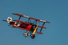 Fokker Dr.-I Reproductie stock fotografie