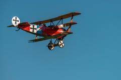 Fokker dr reprodukcja Obraz Royalty Free
