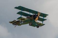 Fokker DR1 trójpłat Obrazy Royalty Free