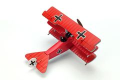 Fokker Drl Diecast Model Fighter Aircraft Collecti Royalty Free Stock Photos