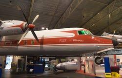 Fokker F27 frienship plane Stock Images