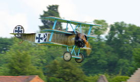 Fokker German Triplane Royalty Free Stock Images