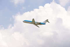 Fokker 70 Royalty Free Stock Photos