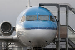 Fokkervliegtuig Stock Afbeeldingen