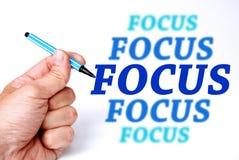 Fokus stockfotos
