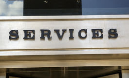 Fokus auf Dienstleistungen Lizenzfreie Stockfotos