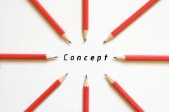 Fokus auf Konzept stockbilder