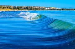 Fokus auf Welle auf dem Vordergrund Lizenzfreies Stockfoto