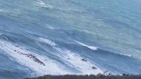 Fokus auf Welle auf dem Vordergrund Stockbilder