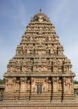 Fokus auf Westseite von Vimanam Stockbild
