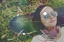 Fokus Clearity-Definition bestimmen Inspirations-Konzept lizenzfreies stockfoto