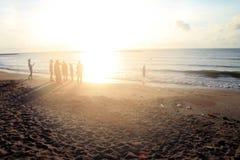 Fokus der Seeansicht nicht für Hintergrund Lizenzfreies Stockfoto