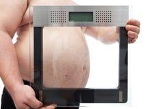 Fokus på fetmabegrepp Arkivfoto