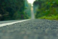 Fokus på vägen Arkivbild