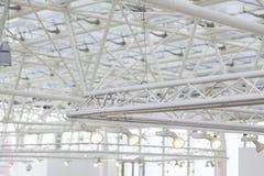 Fokusar på ett inre tak Fotografering för Bildbyråer