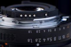 Fokuscirkel av kameralinsen Royaltyfria Foton