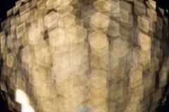 Fokuserad/suddig bild för De av ljus Suddighet lampor Ljus bokeh Royaltyfri Fotografi