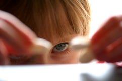 Fokussiert Stockbild