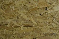 Fokussierte Beschaffenheit der strucured OSB-Holzplatte lizenzfreies stockbild