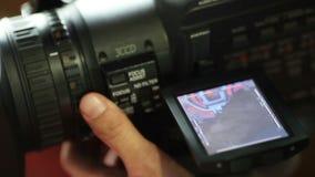 Fokussierung stock footage