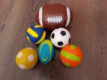 Folâtre des boules Photo stock