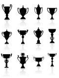 Folâtre des trophées et des récompenses Photos libres de droits