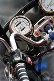 Folâtre la moto Photo libre de droits