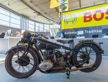 Folâtre la moto BMW R63, 1929 Image libre de droits