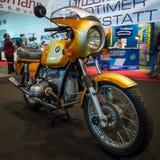 Folâtre la moto BMW R90S, 1976 Images libres de droits