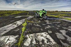 Folâtre la motocyclette Photo stock