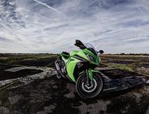 Folâtre la motocyclette Images libres de droits