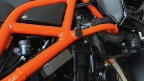 Folâtre le cadre de motocyclette banque de vidéos