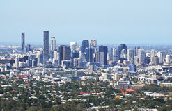 Folaga-tha di Mt dell'allerta di Brisbane Fotografia Stock Libera da Diritti