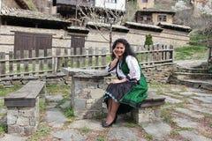 Folclore bulgaro tradizionale fotografia stock
