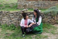 Folclore bulgaro tradizionale fotografia stock libera da diritti
